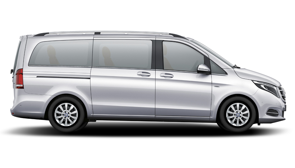 Family Van with baby seat and booster
