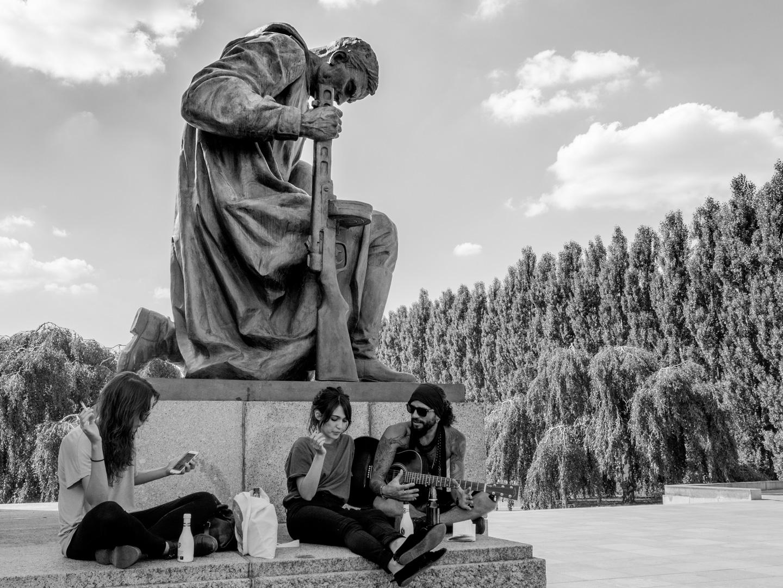 Soviet memorial   Park Treptow Berlin