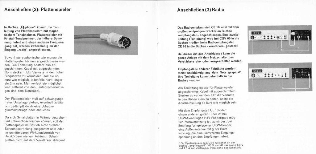 Braun CSV60/1 Röhren-Vollverstärker - die kettwiger