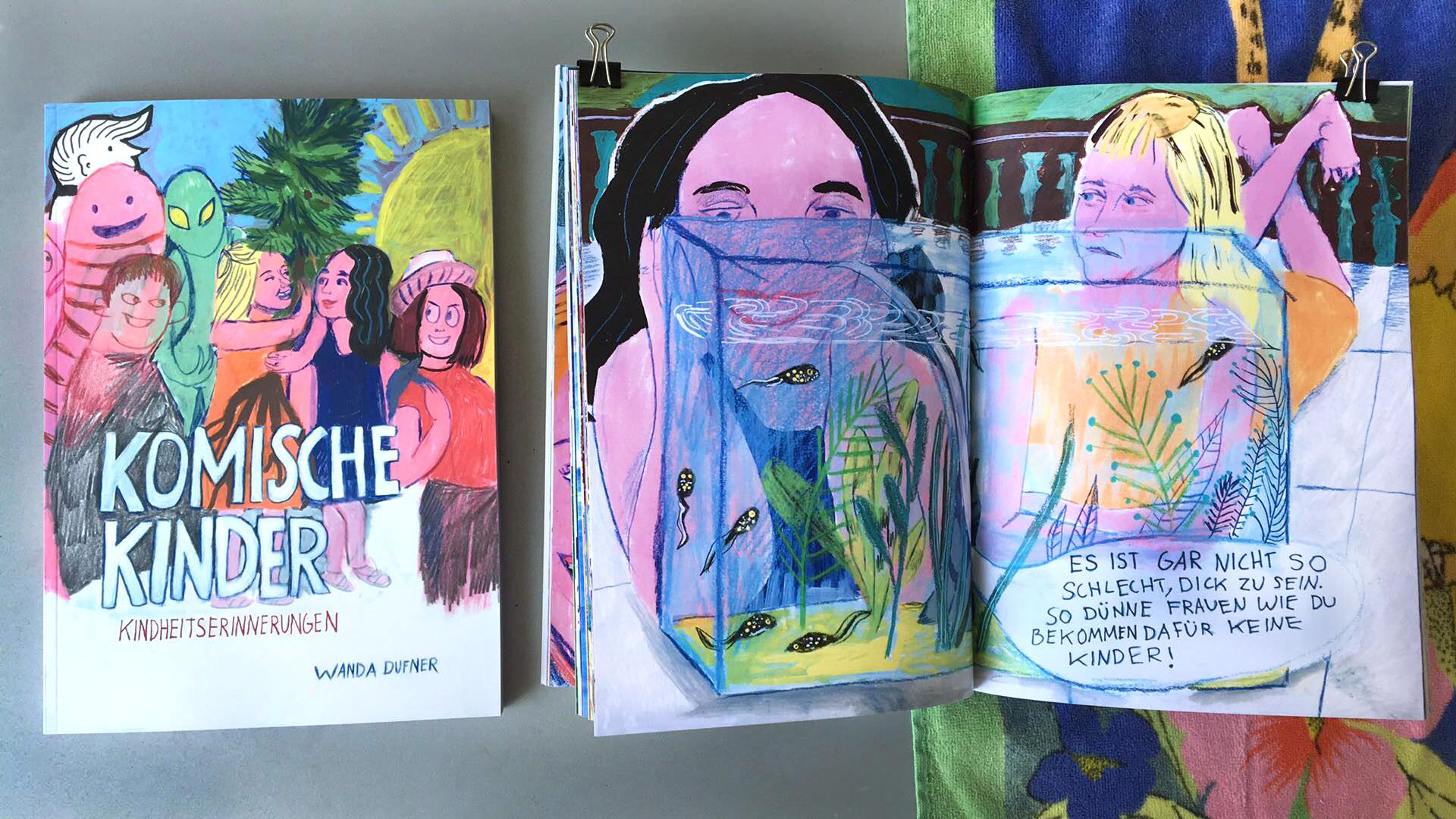 Ein für den ArtWalk angefertigtes Buch mit Kindheitserinnerungen über das Aufwachsen in Bremgarten