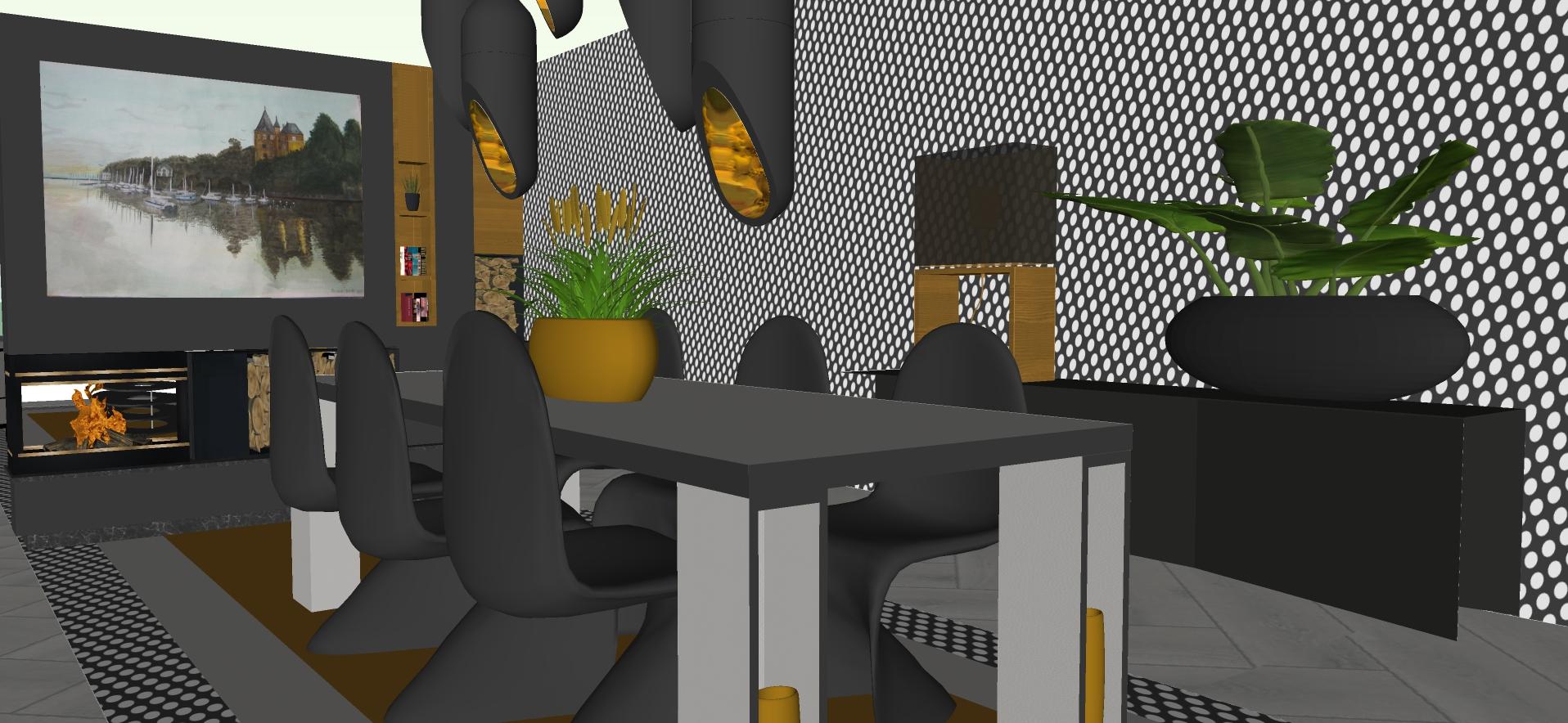 Mijn favoriete designstoelen: Panton chairs.