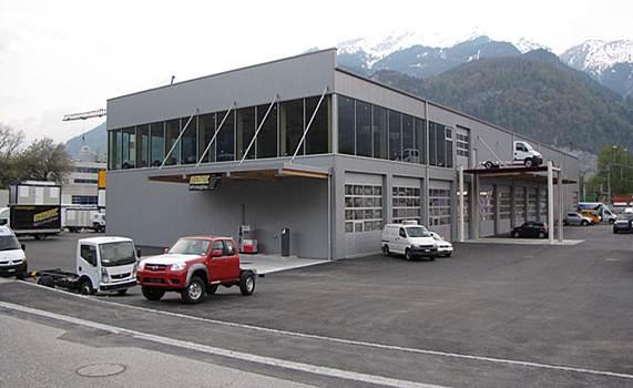 Neubau Werkhalle Mayer, Trimmis