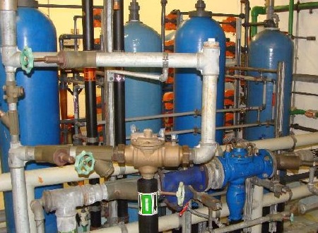 Sanierung Wasseraufbereitung Hilti AG, Schaan