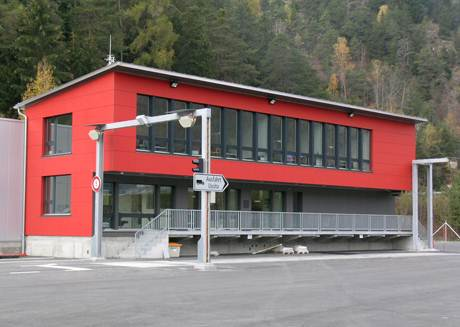 Schwerverkehrskontrollzentrum (SVKZ) Unterrealta