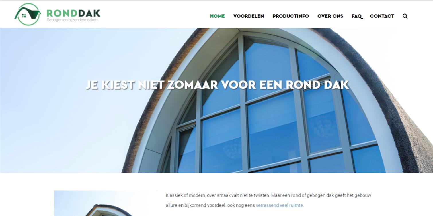 website en marketingadvies RondDak