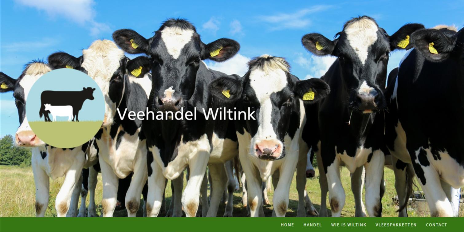 website Veehandel Wiltink