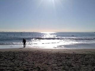 実は久しぶりの海