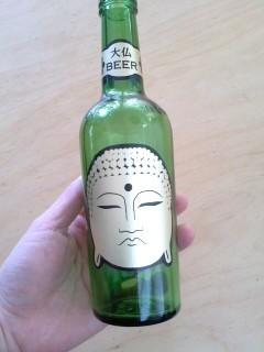 飲んだ後のビンです