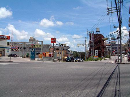 (画像)豊見城交差点•上田交差点 同じ場所