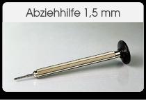 Abziehhilfe 1,5 mm