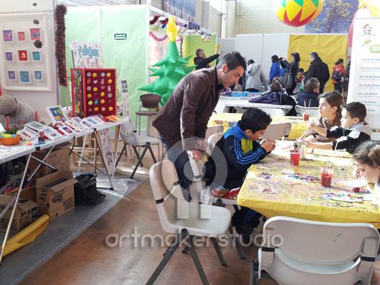 Taller de pintura de escayolas originales Pop Kids by Nasel en Diverspai Ibiza