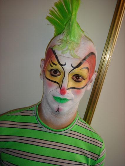 Circus Face Paint