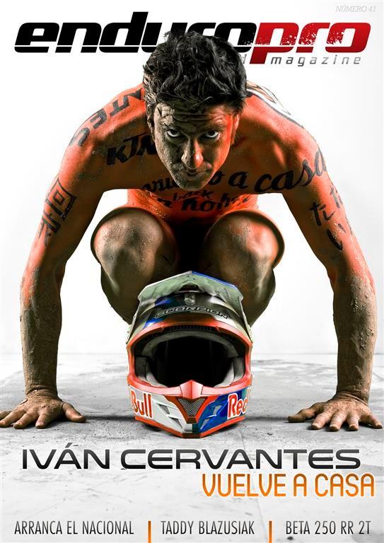 Body Painting realizado por Fernando Santos para la portada de la revista ENDUROPRO. Modelo: Ivan Cervantes 5 veces campeón del Mundo de Enduro
