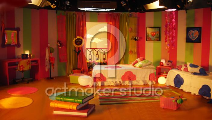 """Escenografía programa infantil """"Fada Paca"""" TV3 2006"""