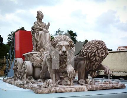 Escultura de Cibeles para la Copa de Rey Valencia 2011