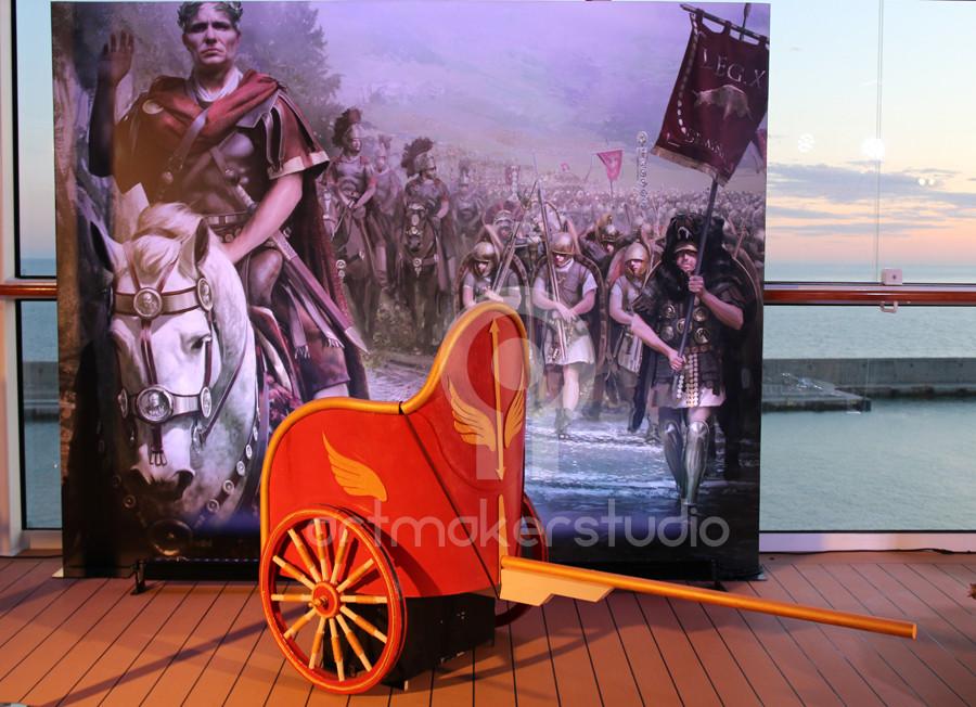 Escenografia: carro romano