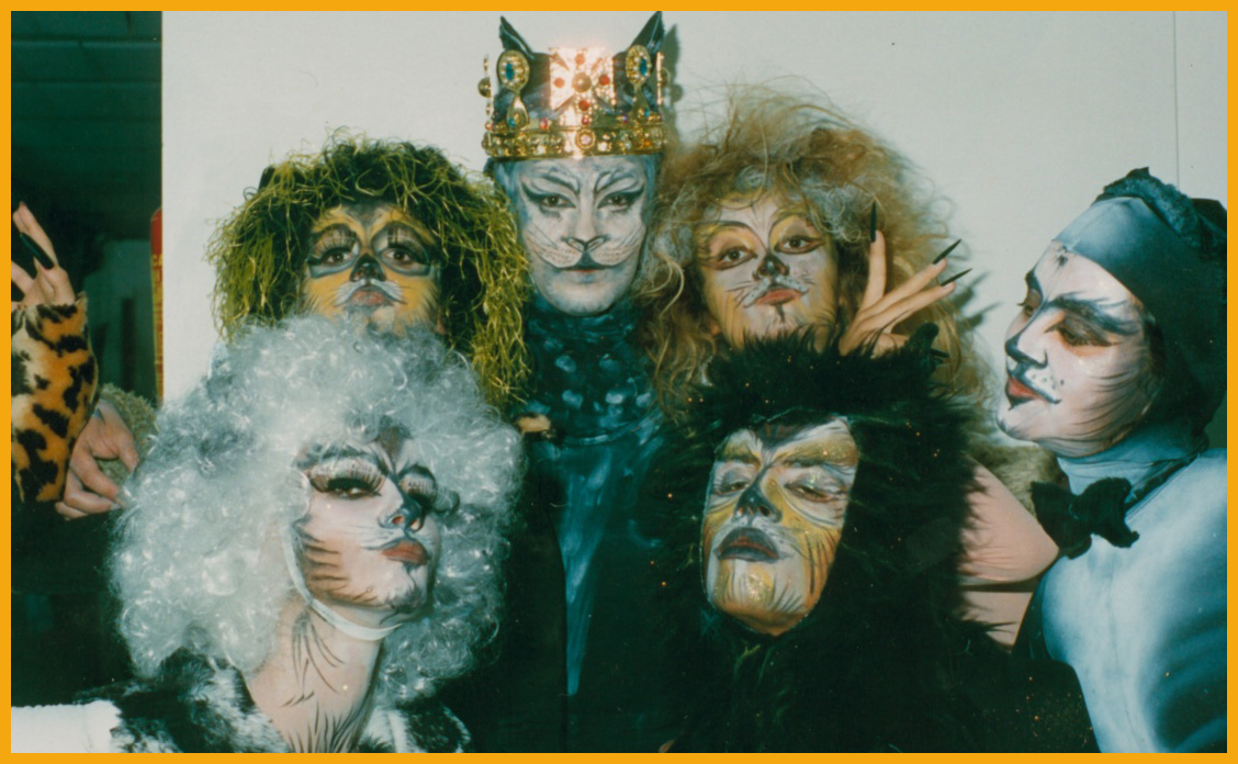 CATS musical make ups