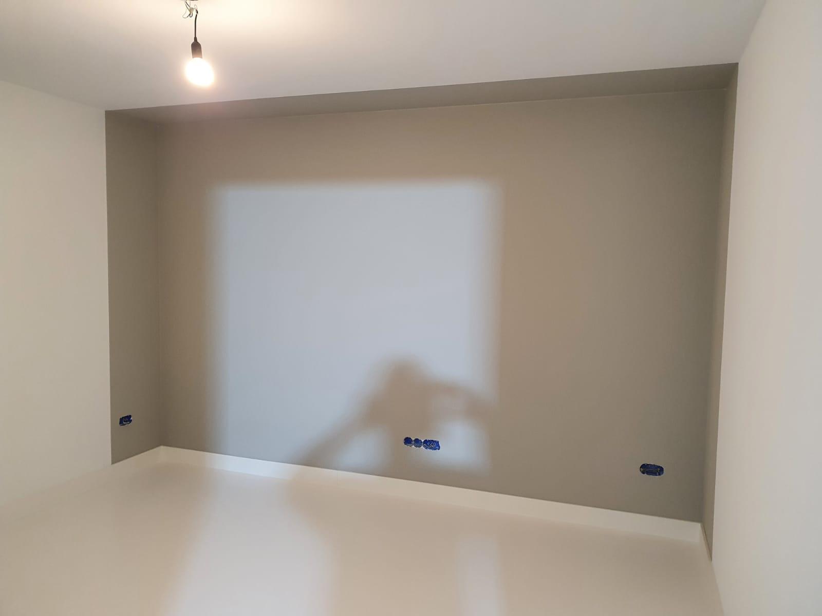 lambrisering plafond met niseffect