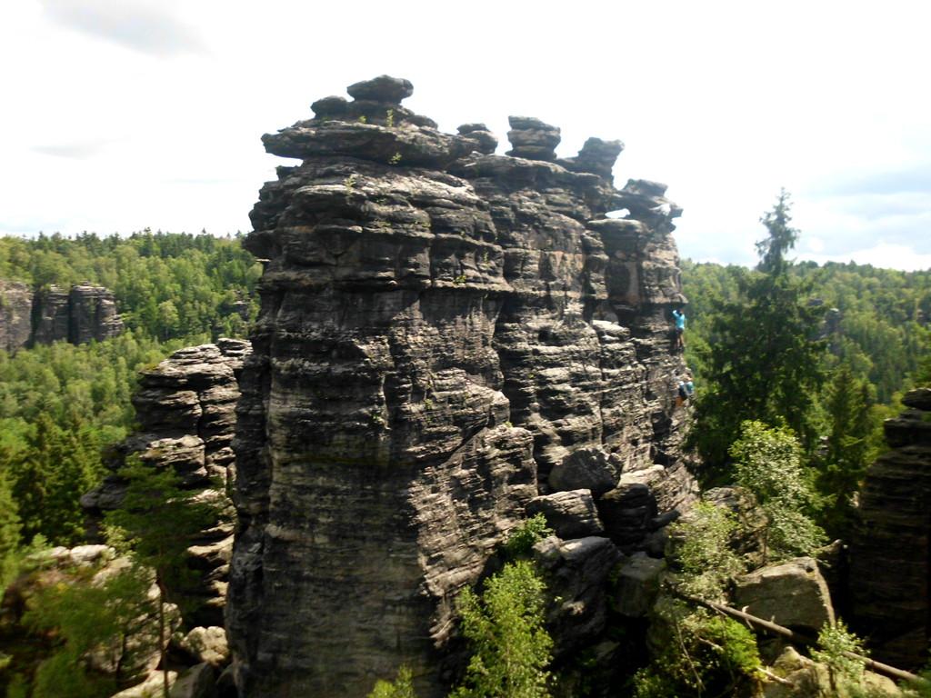 Felsengruppe an der Johanniswacht