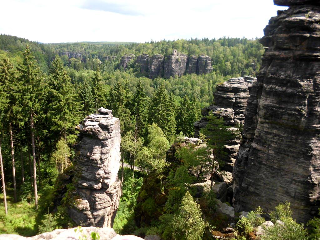 Blick auf die Felsenwelt