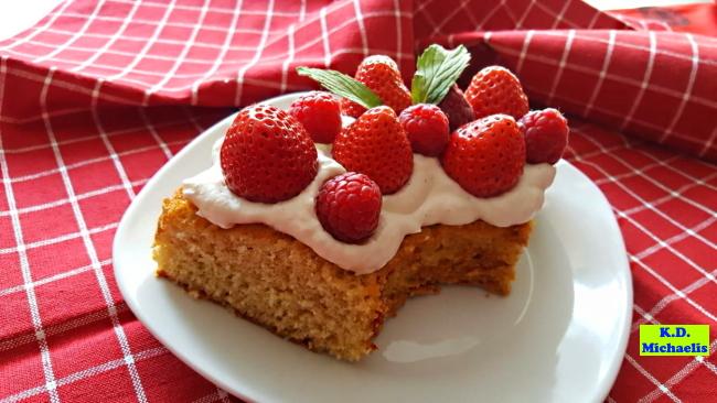 Dinkel-Dreams 2: Fruchtiger Beerenkuchen