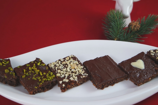 Selbstgemachte Brownies / Schokoladenschnitten von K.D. Michaelis