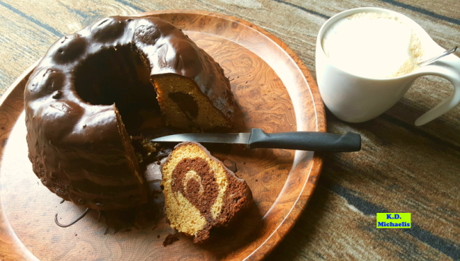 Dinkel-Dreams: Schoko-Marmorkuchen