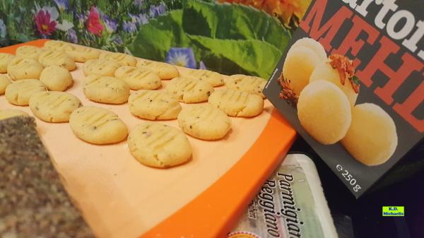 Dinkel-Dreams 3: Glutenfreie weizenfreie Kartoffel-Gnocchi mit Kartoffelmehl und Parmesan