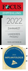 Focus Empfehlung und Tätigkeitsschwerpunkt Implantologie in Hauzenberg