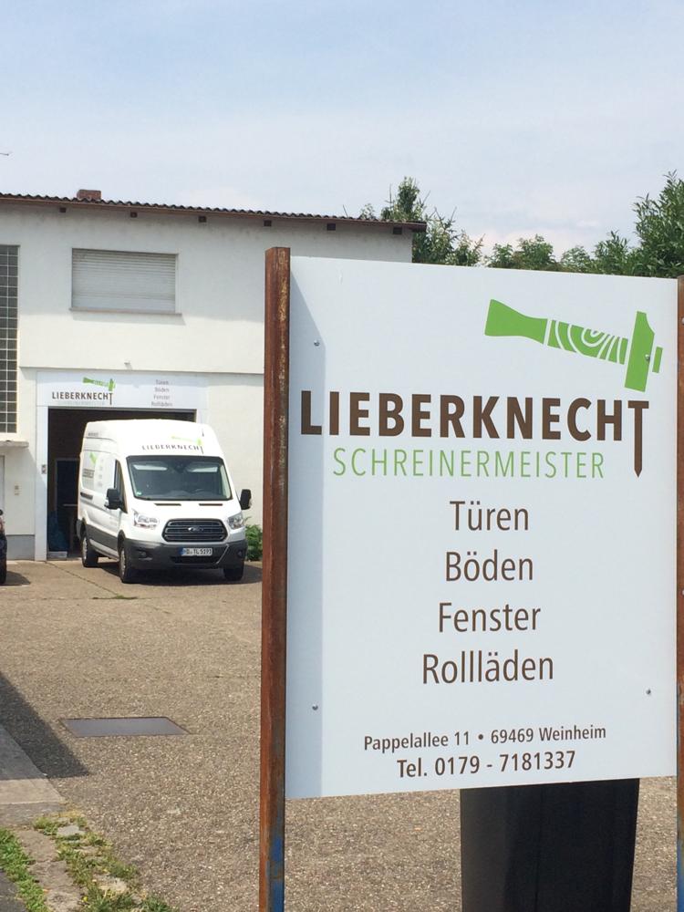 Schreiner Weinheim über uns lieber knechts webseite