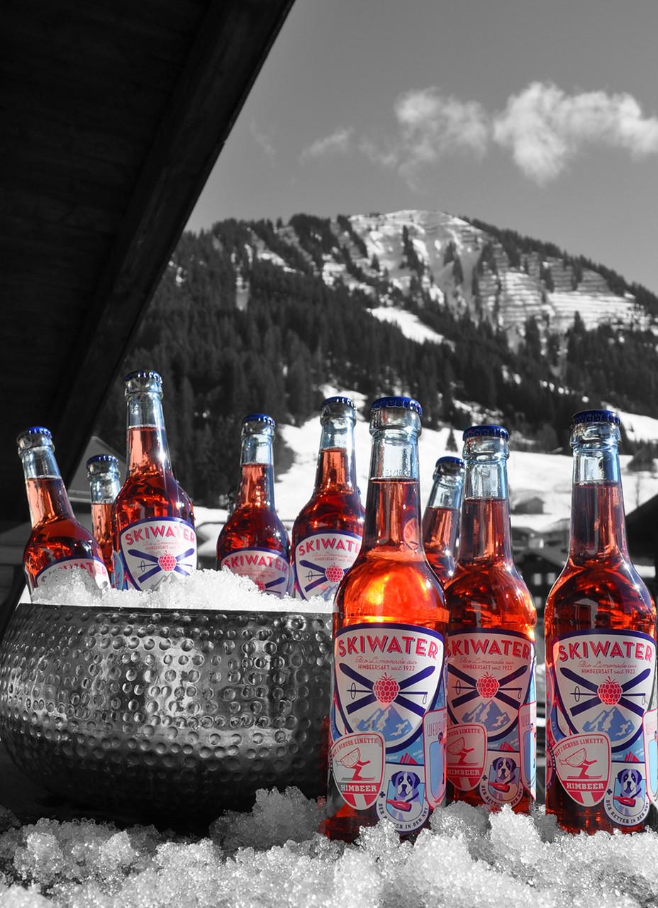 Skispaß - mit Blick auf den Schwandlift