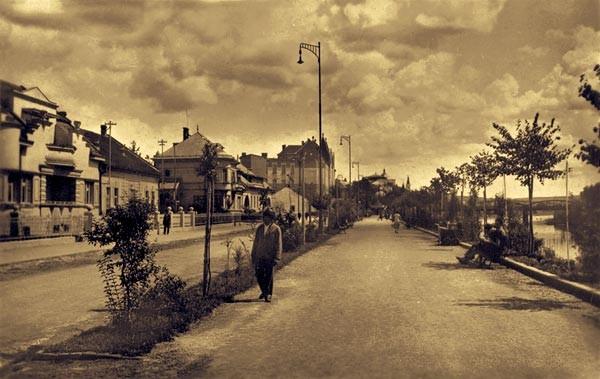 1945 г. Набережная Рошковича(Незалежности)