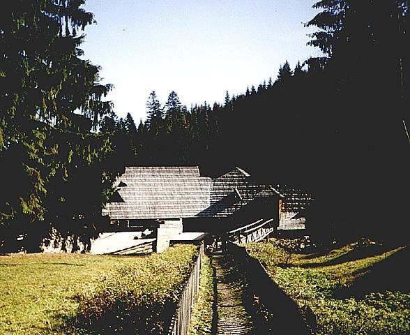 Единственный в Европе музей леса и сплава