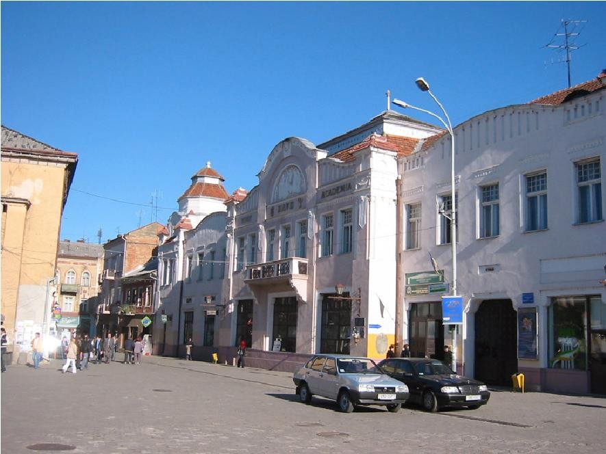 Центральная улица Ужгорода