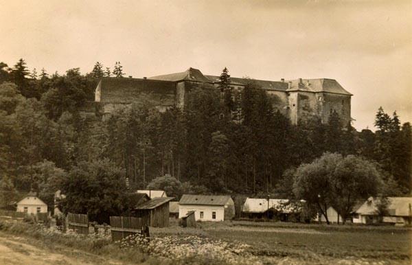 1940 г.Ужгородский замок