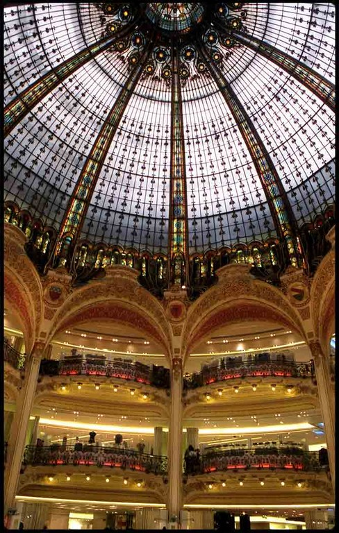 Galeries Lafayette-Haussmann. Paris, France, 2007