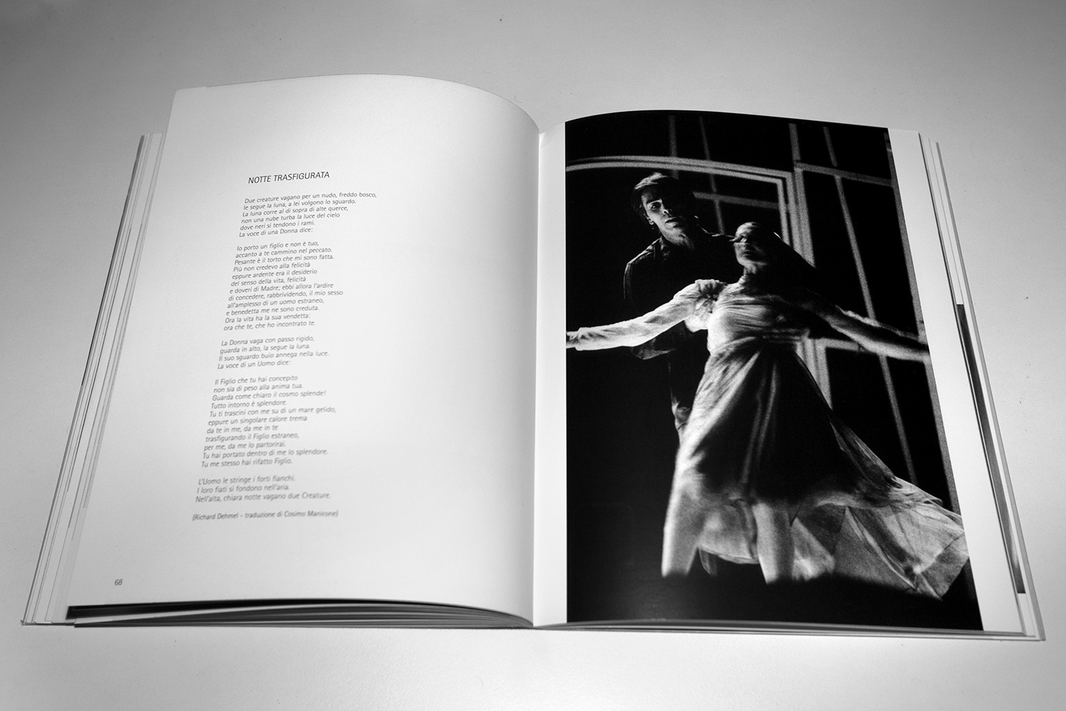 'Notte Trasfigurata', music by Arnold Schönberg, Teatro Toselli, Cuneo, Italy 1999