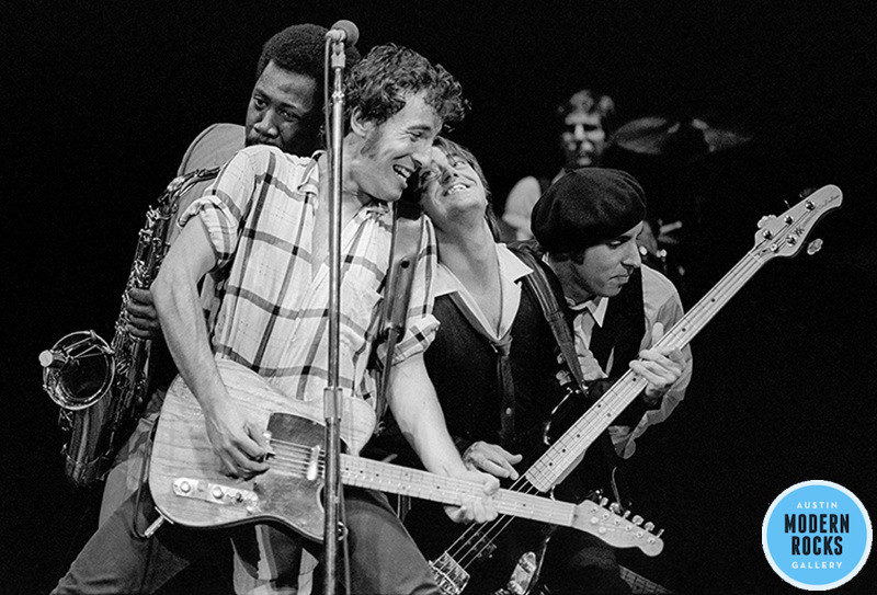 Bruce Springsteen and the E Street Band, 1980 © Tom Callins/MRG