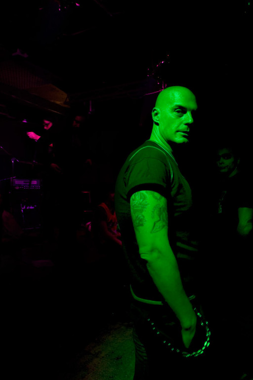 Payback's singer Fabrizo aka 'Il Marinaio' (The Sailor) at Traffic Live Club. 2008
