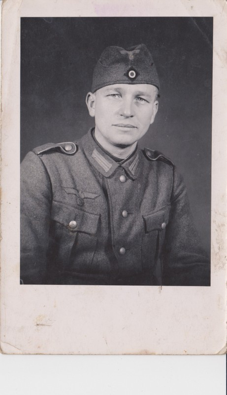 Großvater als Soldat