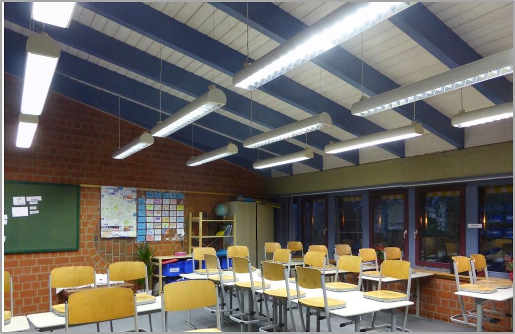 Klassenraum 22 ohne Schallabsorber