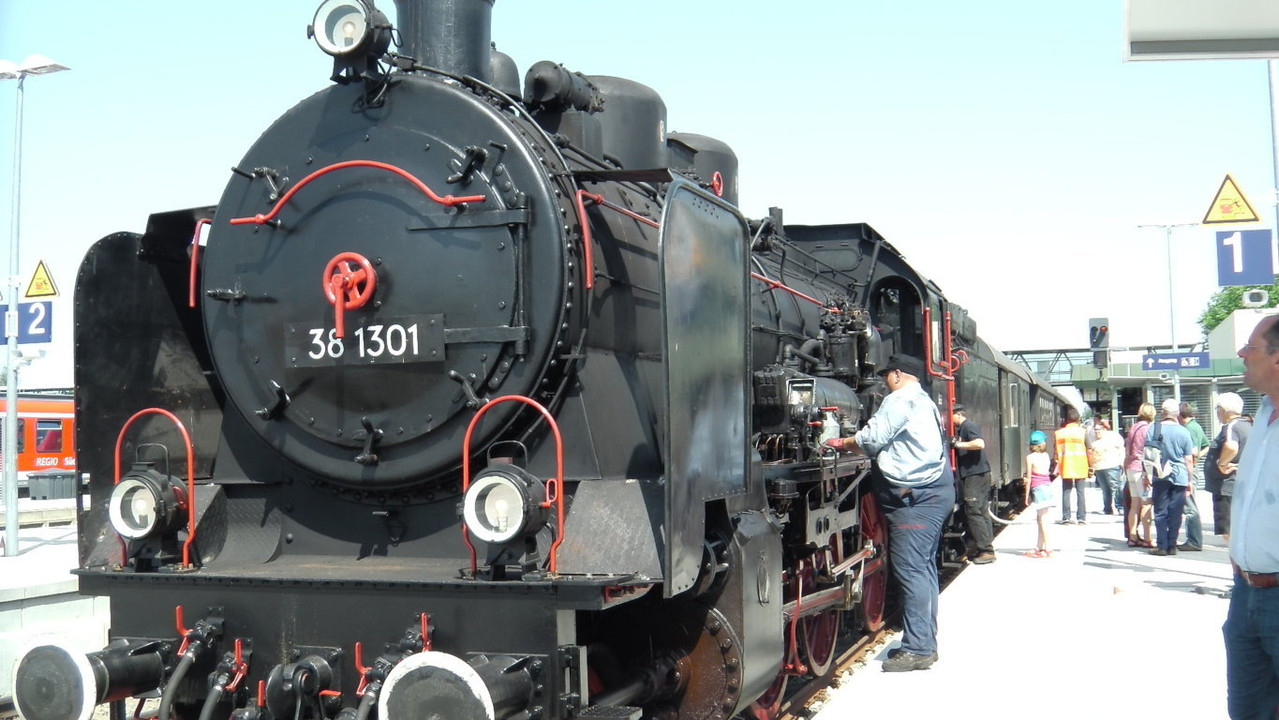 Die Dampflok 38 1301
