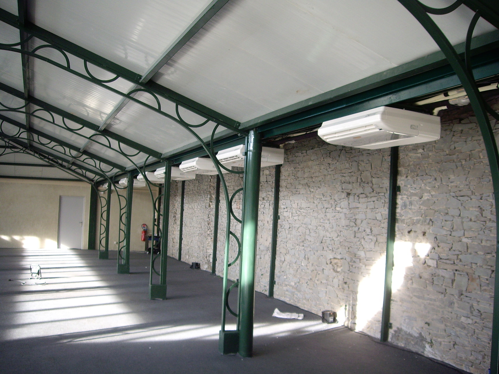 Climatisation salle