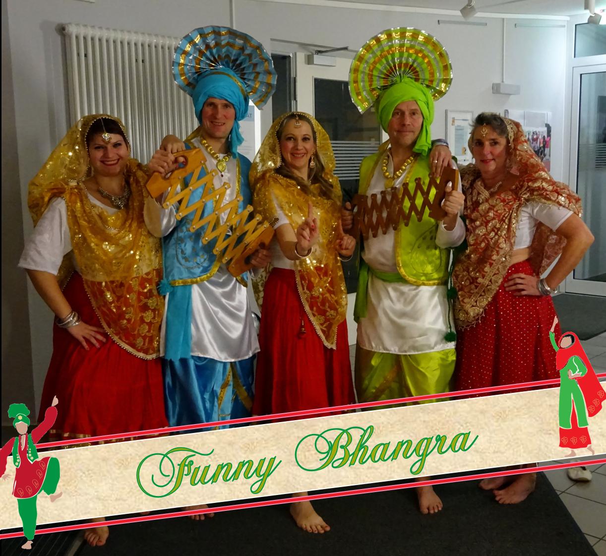 Funny Bhangra