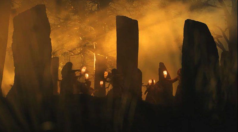 """Immagine tratta dalla serie """"Outlander"""""""