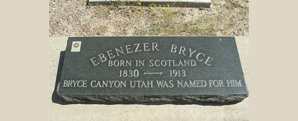 EBENEZER'S GRAVE IN ARIZONA