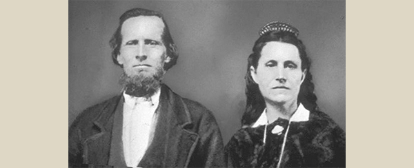 EBENEZER BRYCE AND HIS WIFE, MARY ANN PARKS