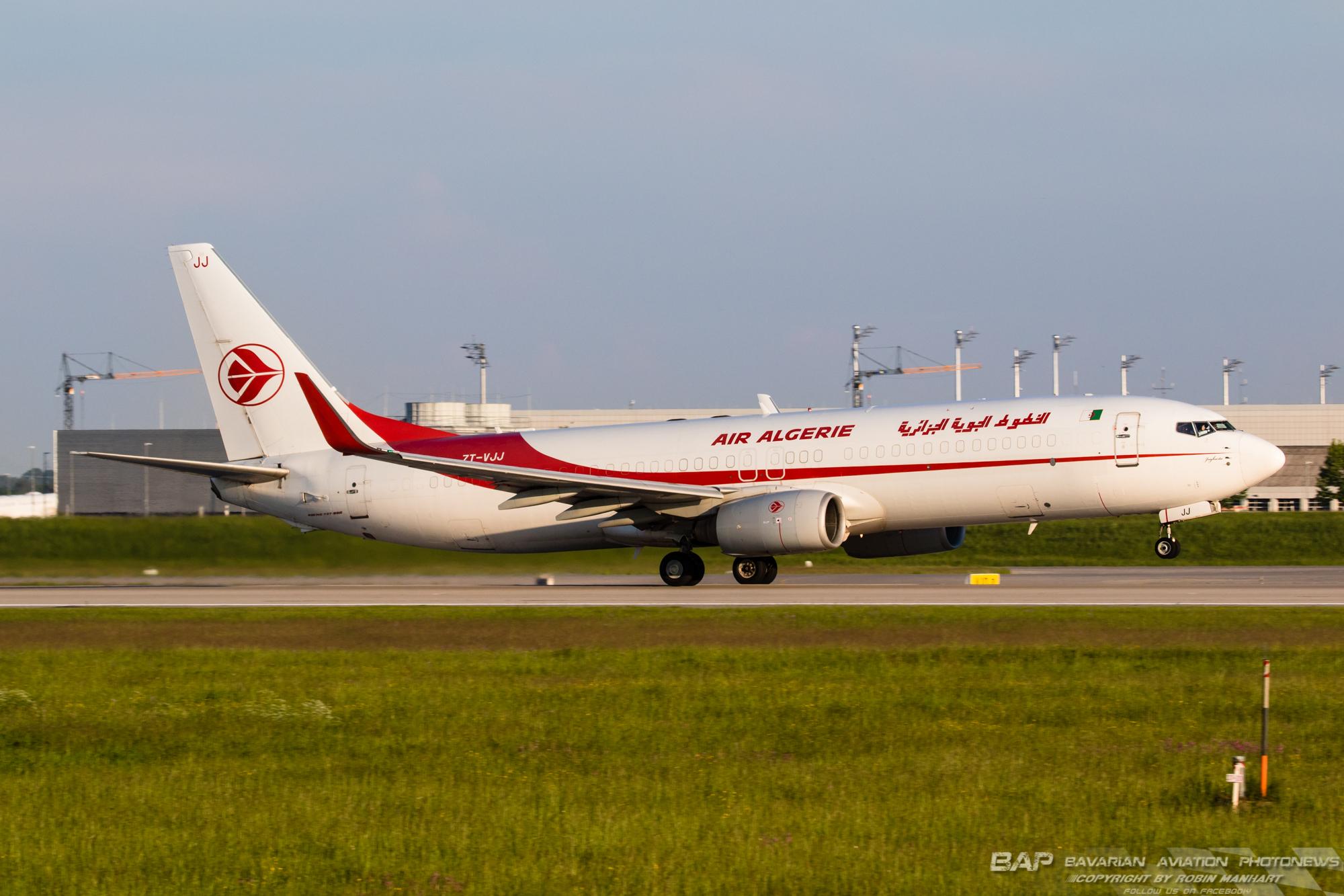 7T-VJJ B738F  Air Algerie Cargo @ MUC