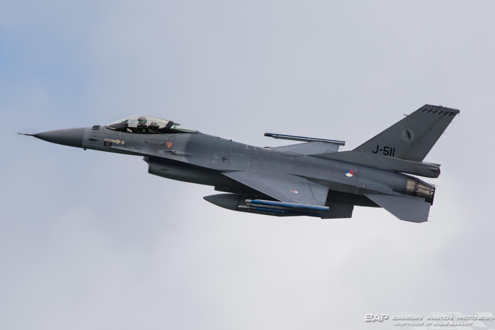 J-511 F-16AM 322sqn RNLAF;