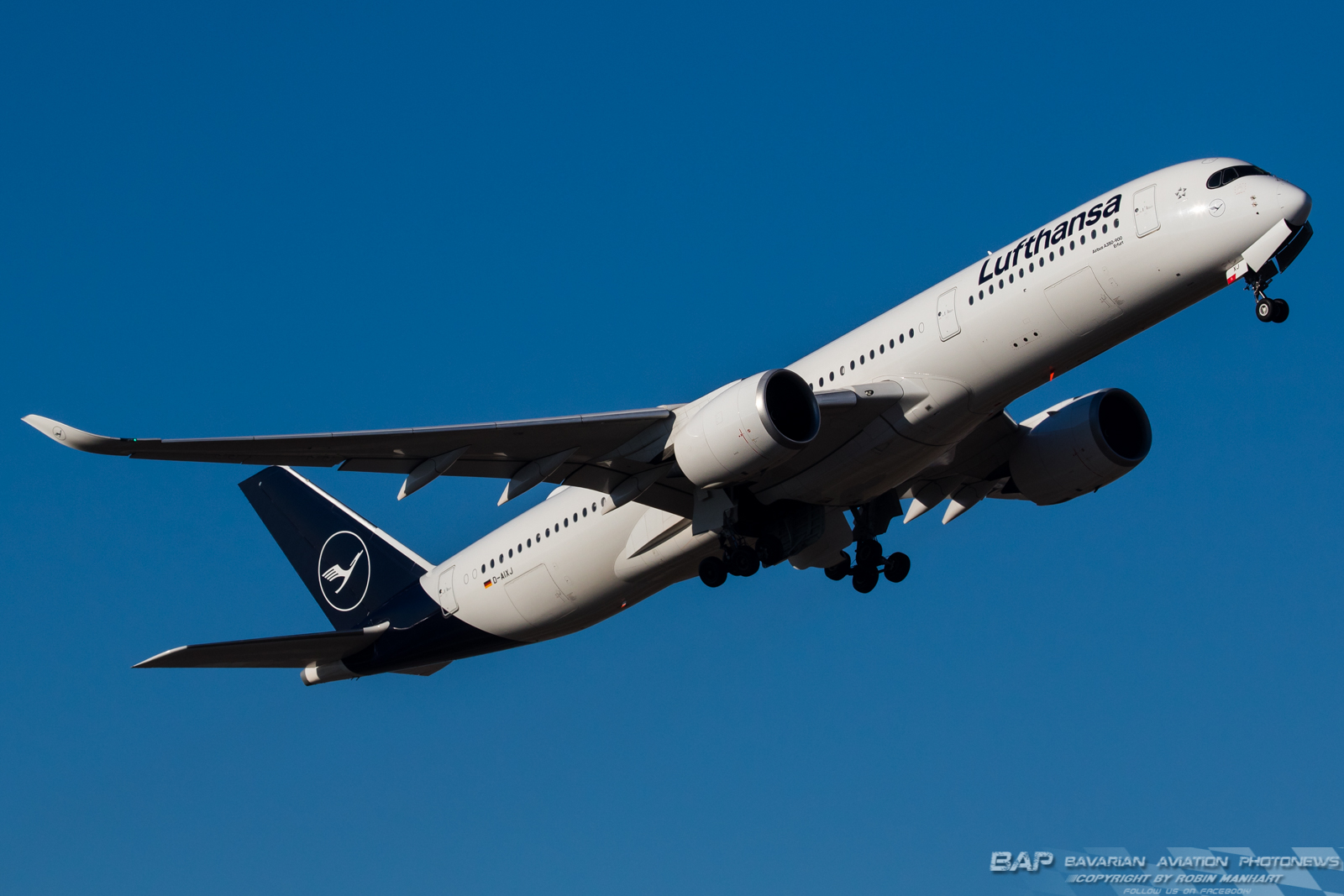 "D-AIXJ  Lufthansa ""Erfurt"" A350 @ MUC"